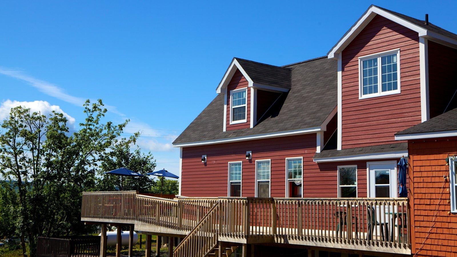 Baddeck caracterizando uma casa
