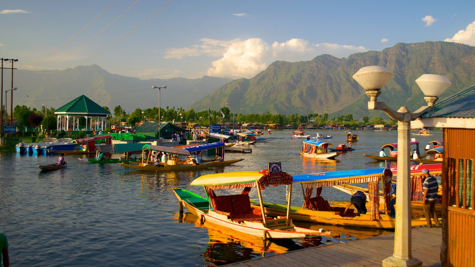 Srinagar featuring a lake or waterhole