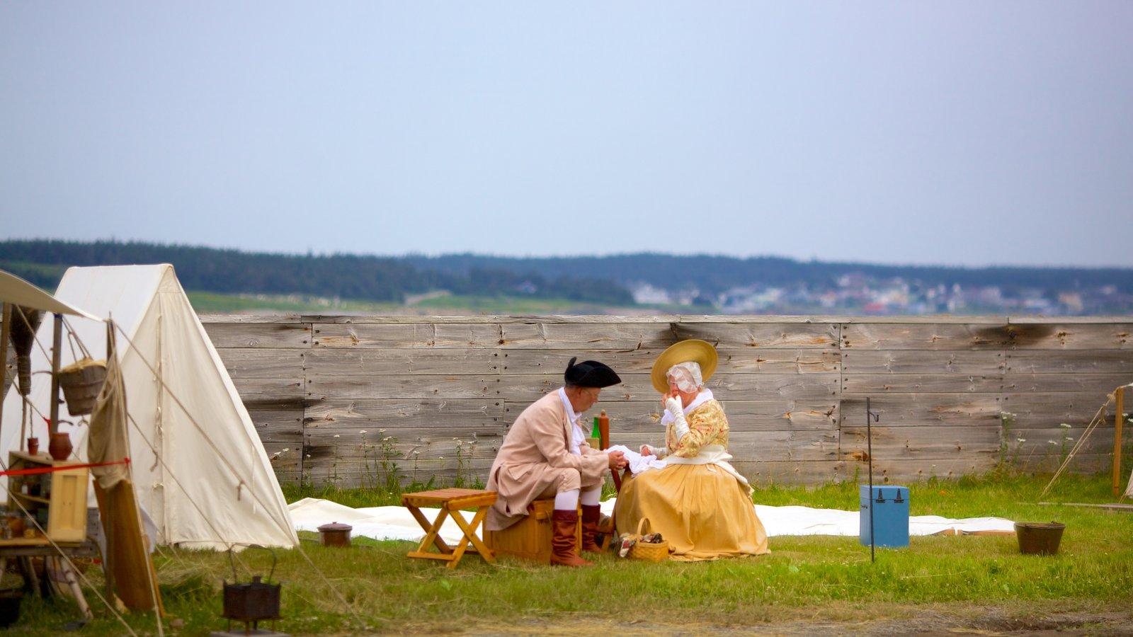 Fortress Louisbourg National Historic Site caracterizando elementos de patrimônio