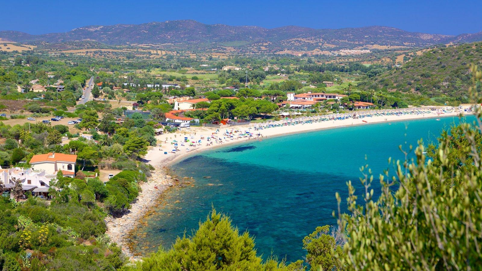 Beach pictures view images of cagliari villasimius for Hotels sardaigne