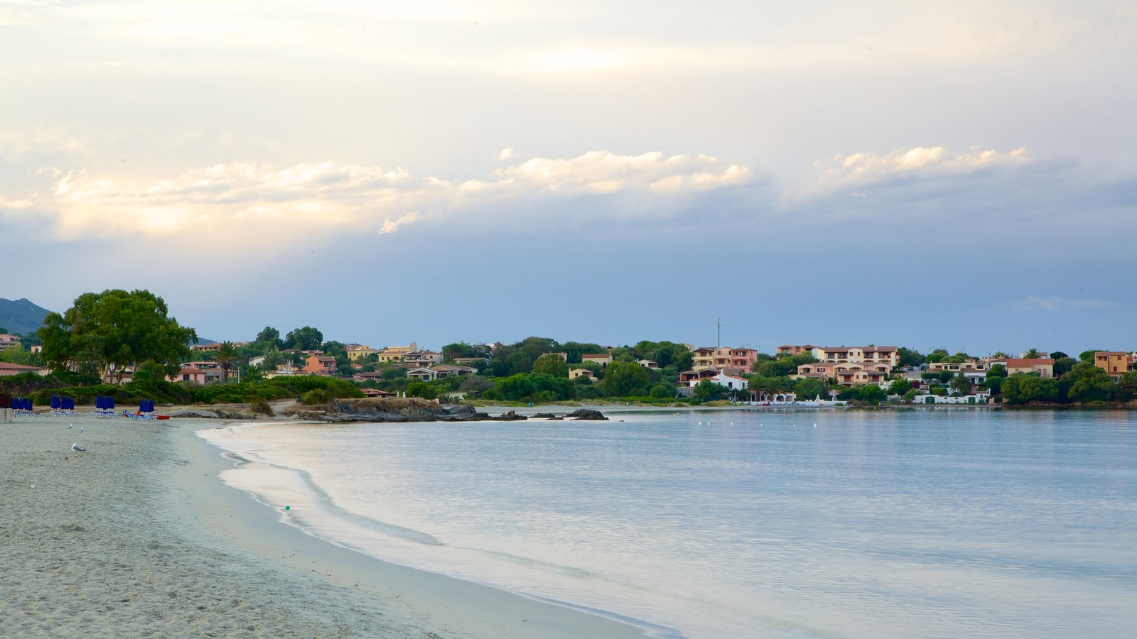 Pittulongu Beach showing a sandy beach