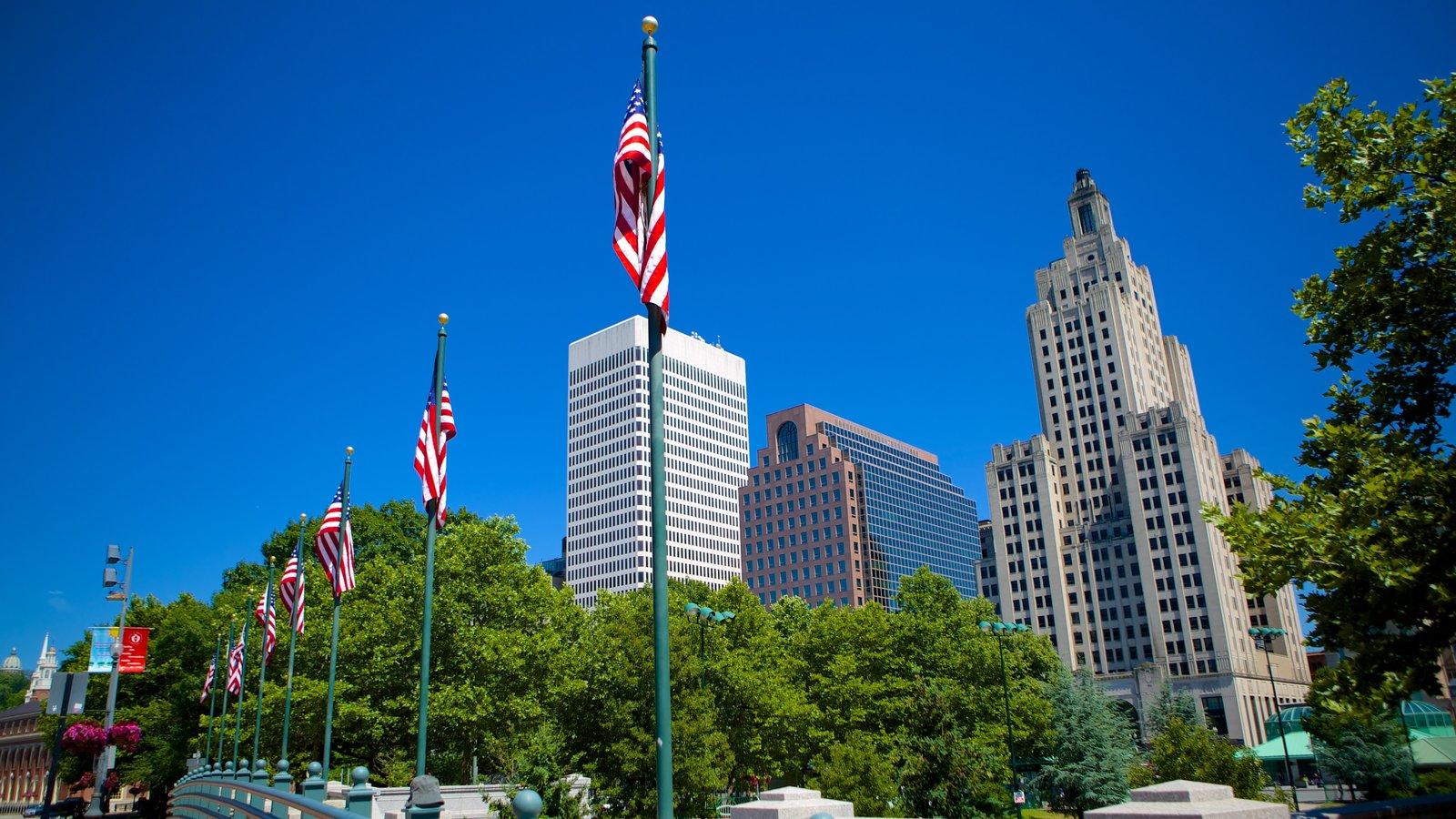 Providence mostrando una ciudad