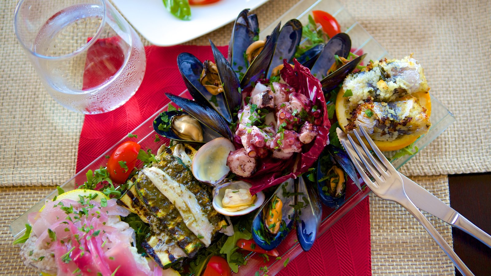 Trapani which includes food and dining out