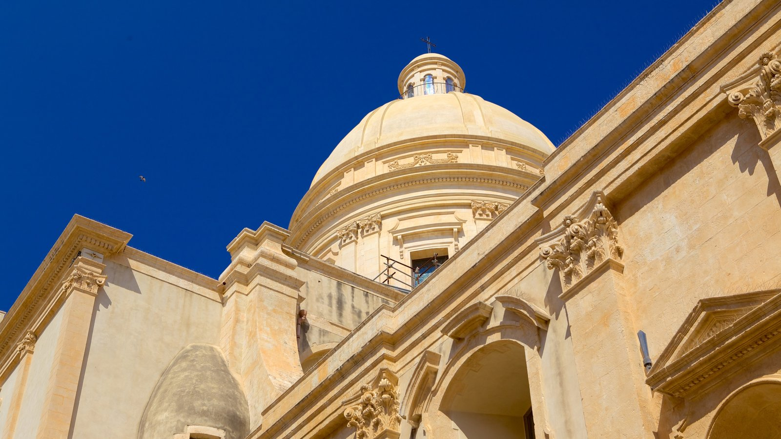 Cathedral of Noto featuring a church or cathedral and heritage architecture