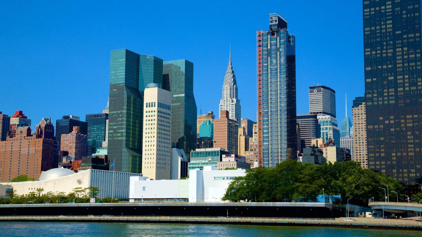 Midtown que inclui uma cidade