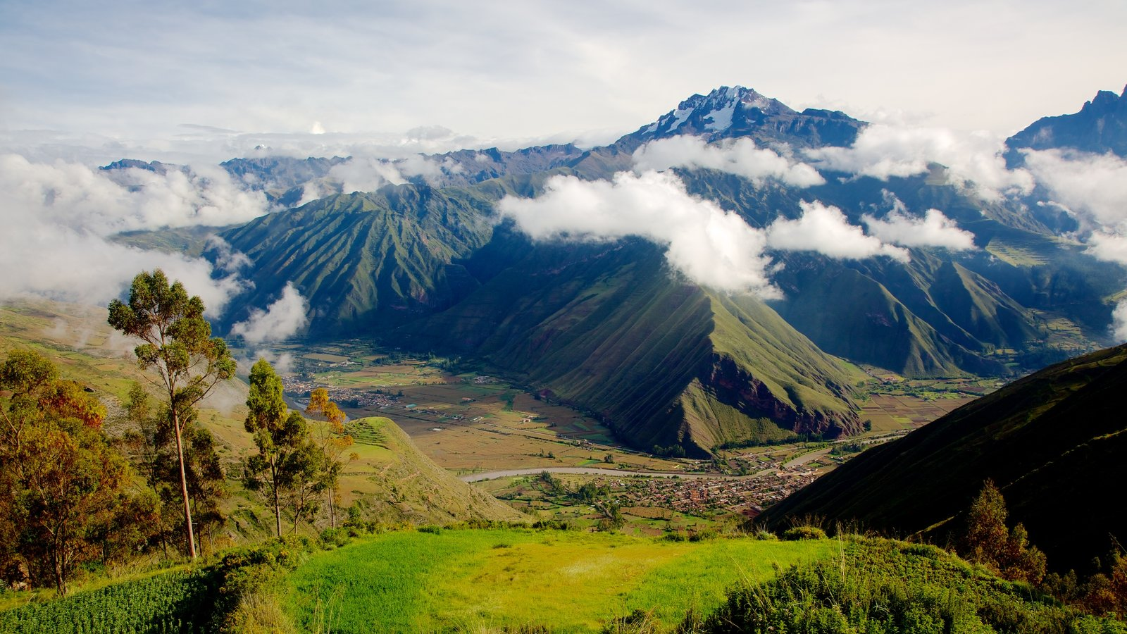 Urubamba featuring tranquil scenes, landscape views and mountains
