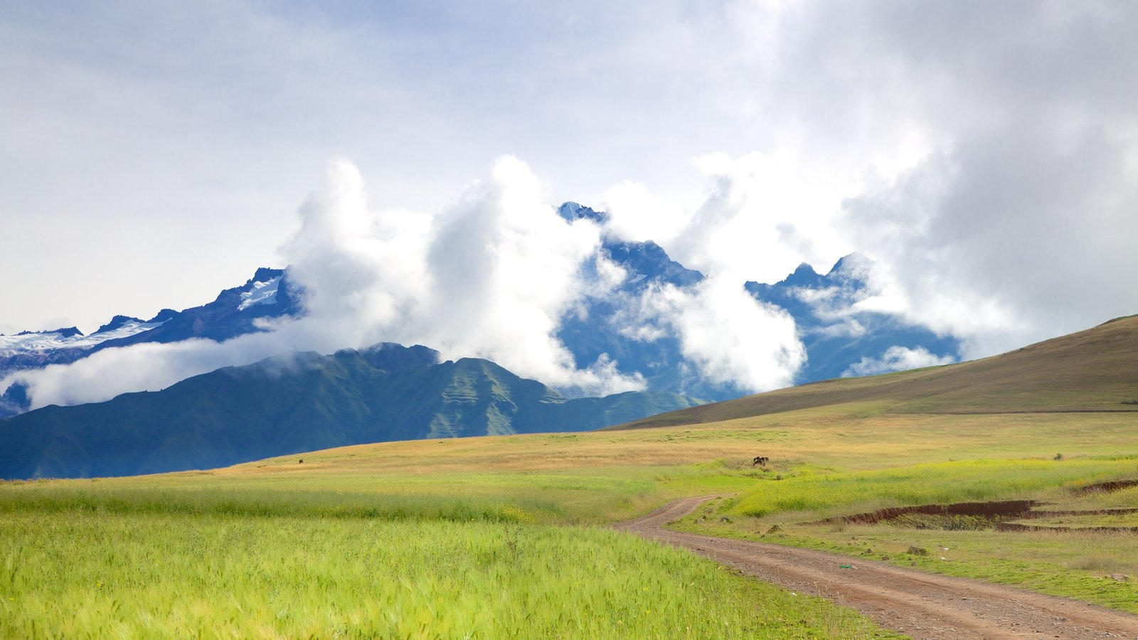 Cusco - Machu Picchu featuring tranquil scenes, mountains and landscape views