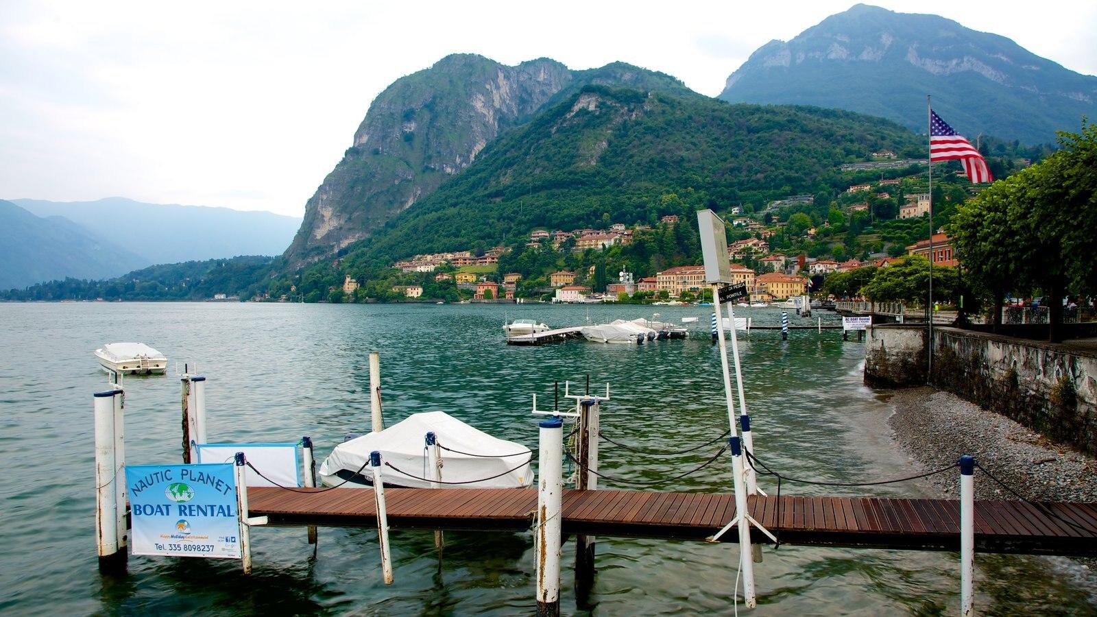 Menaggio which includes general coastal views