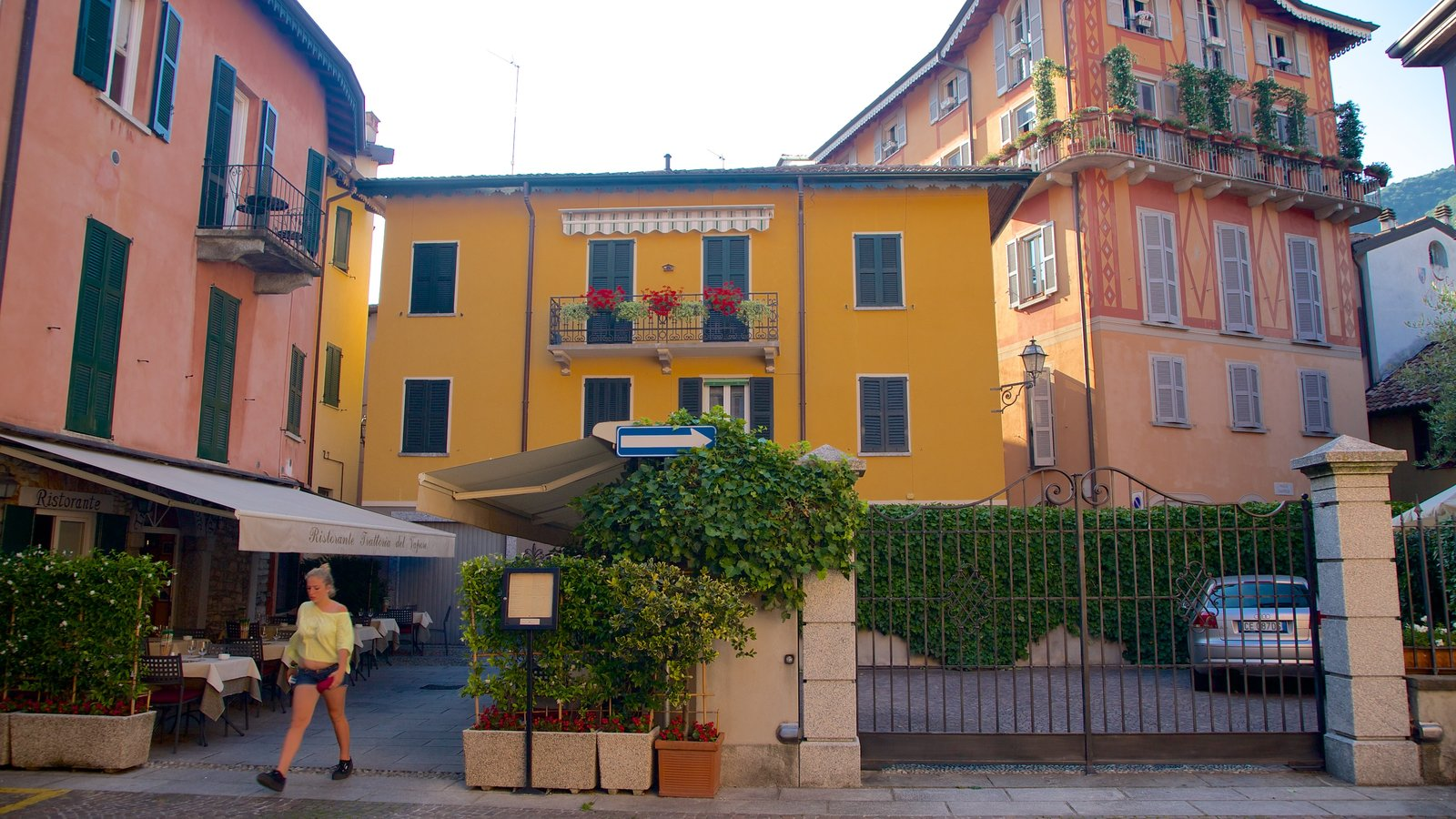 Cernobbio featuring a house, cafe lifestyle and heritage architecture