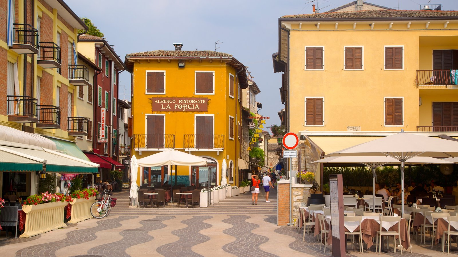 Lazise featuring a city