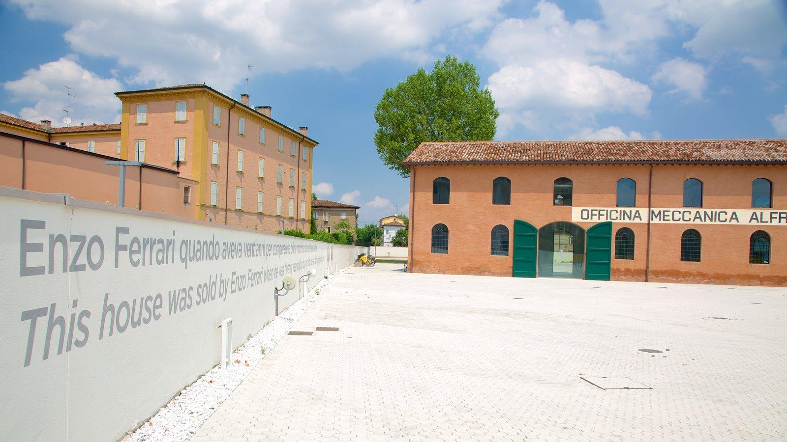Museo Casa Enzo Ferrari which includes a square or plaza