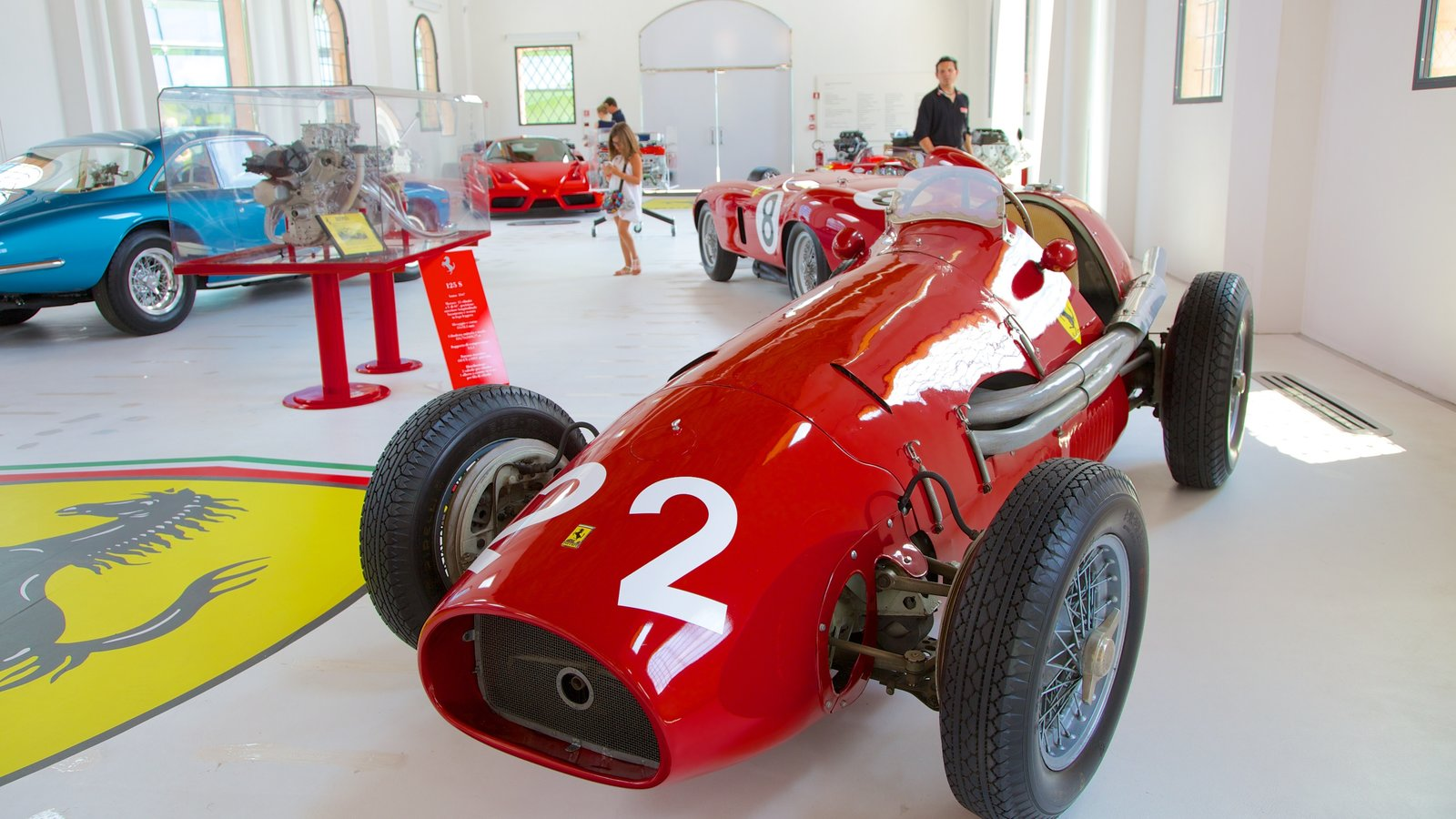 Museo Casa Enzo Ferrari featuring interior views