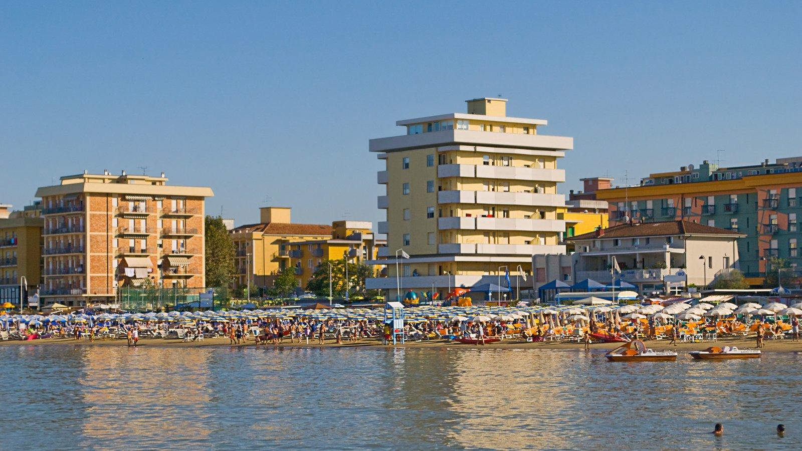 Bellaria-Igea Marina which includes general coastal views and a city