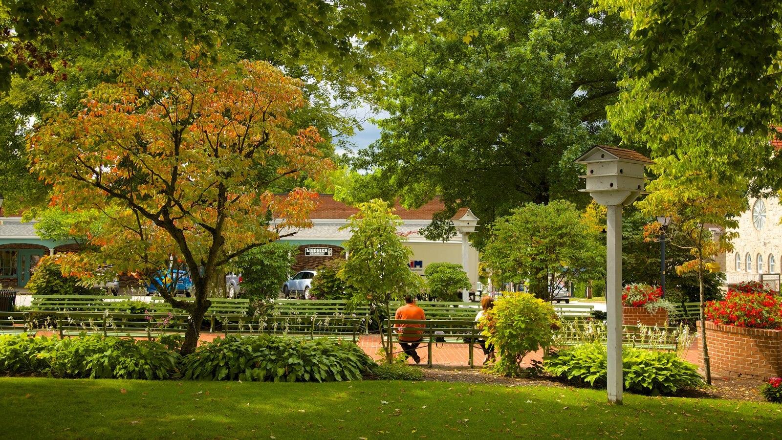 Ligonier caracterizando um parque