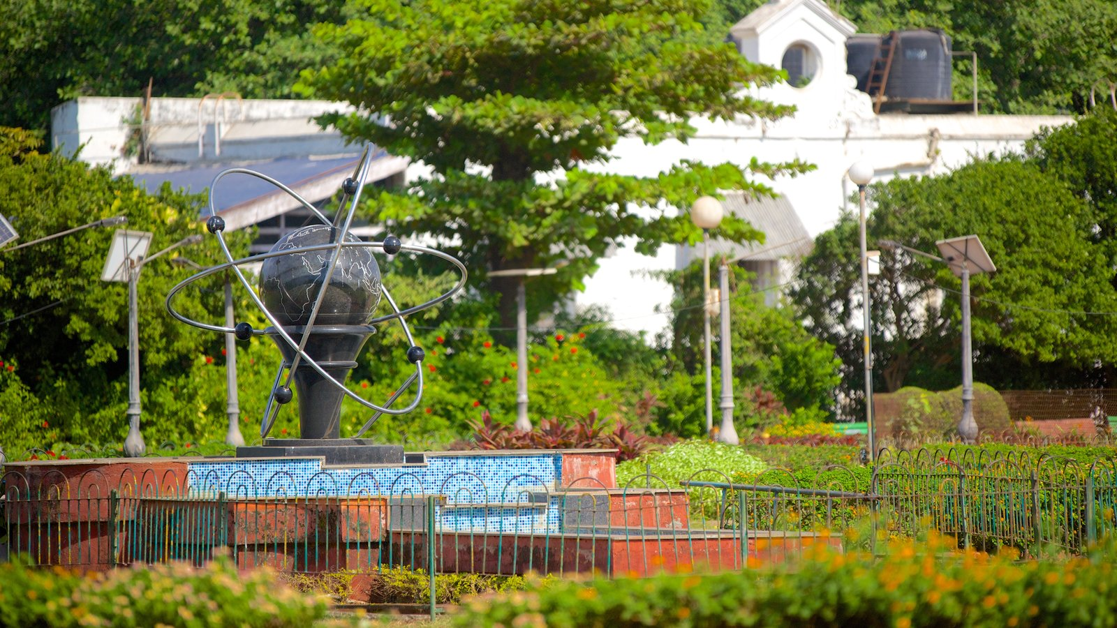 Hanging Gardens Featuring A Park, Outdoor Art And A Statue Or Sculpture