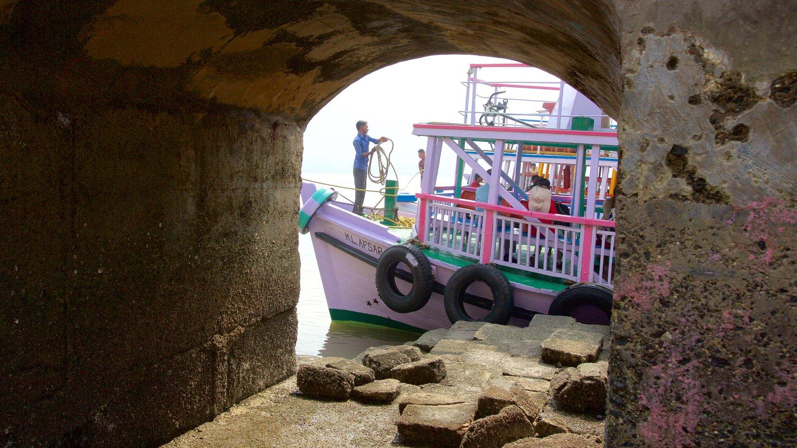 Elephanta Caves Showing Boating