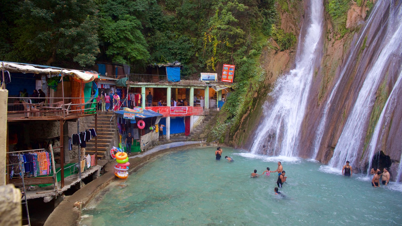 Waterfall pictures view images of dehradun - Mussoorie hotels with swimming pool ...