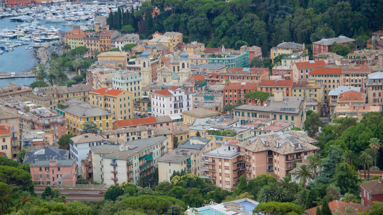 Portofino showing general coastal views, a city and a coastal town