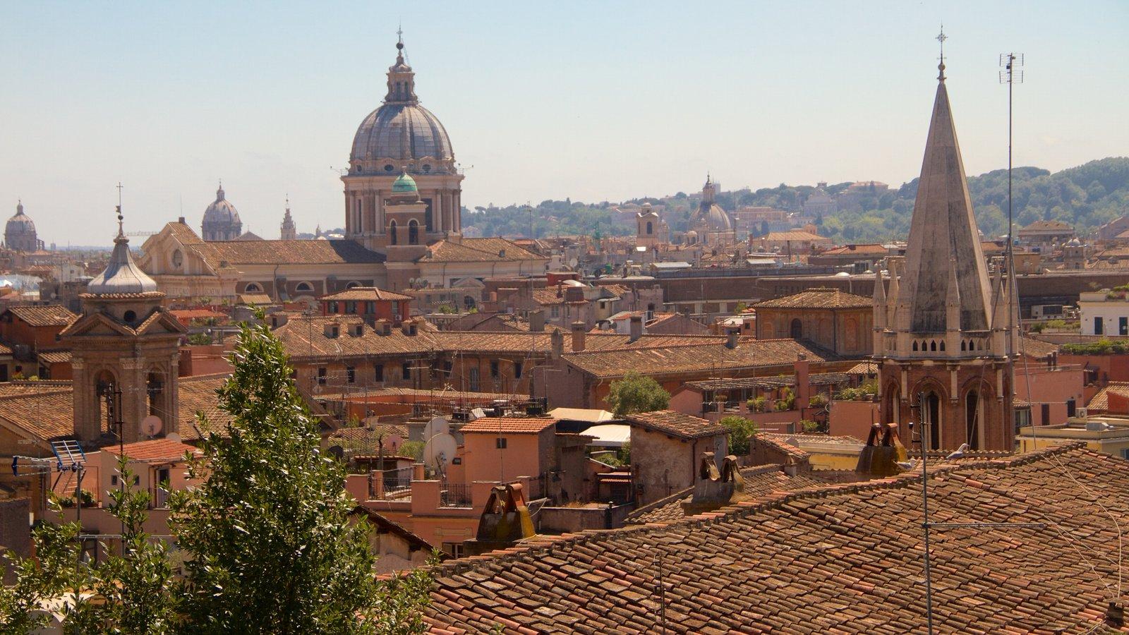 Pincio featuring a city