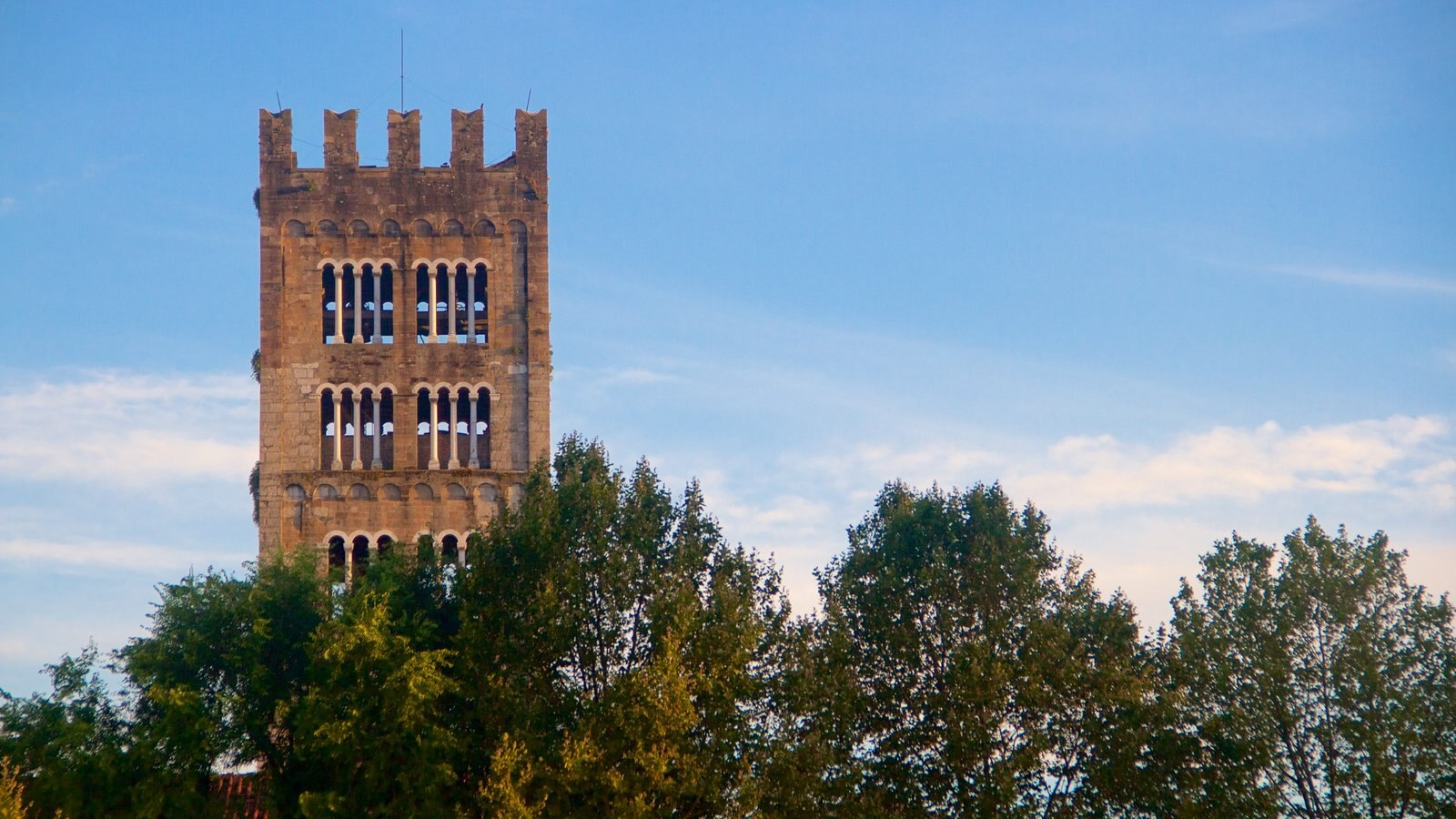 Basilica di San Frediano showing heritage architecture