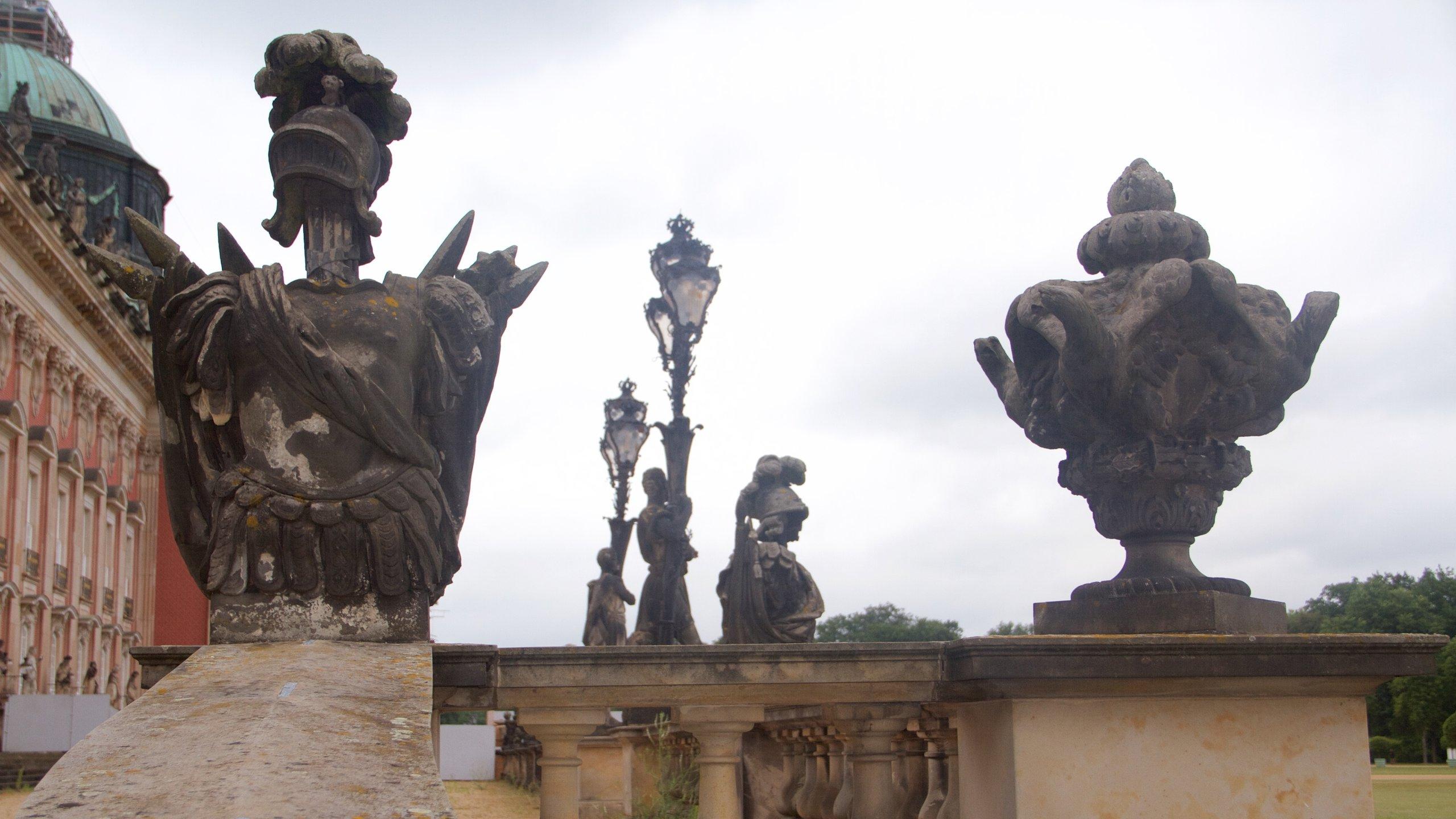 Neues Palais, Potsdam, Brandenburg Region, Deutschland