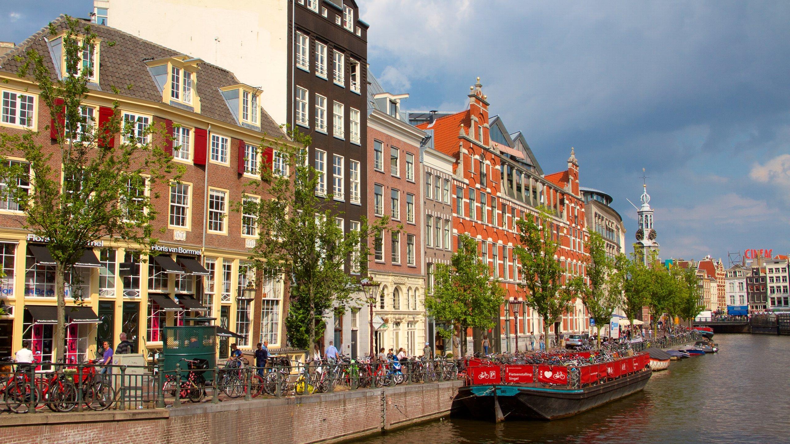 Singel, Amsterdam, North Holland, Netherlands