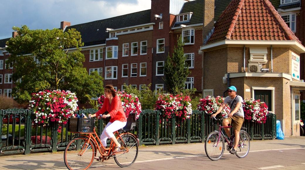 Amsterdam sørøst som inkluderer sykling i tillegg til par