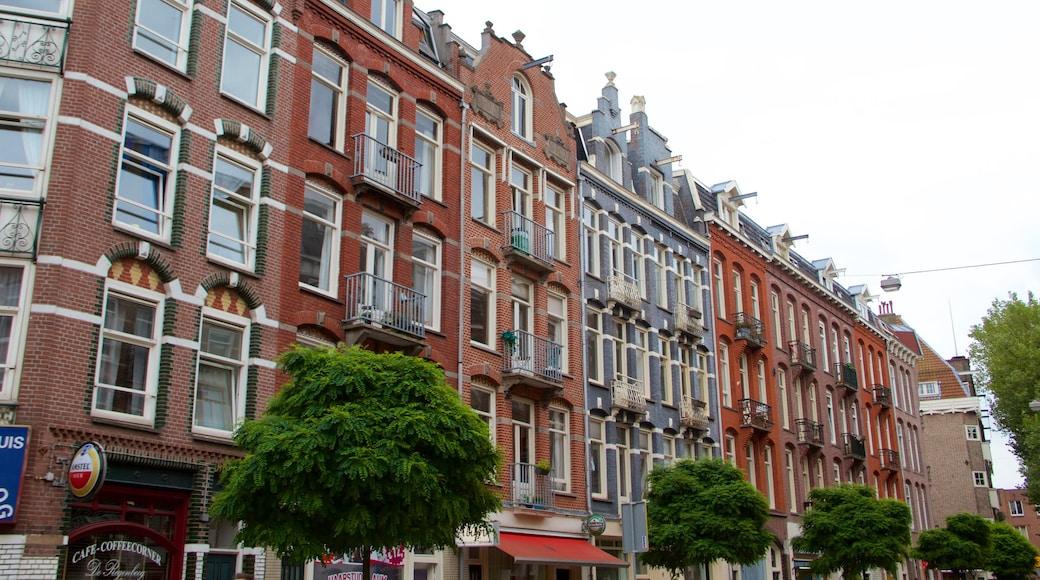 De Pijp featuring heritage architecture