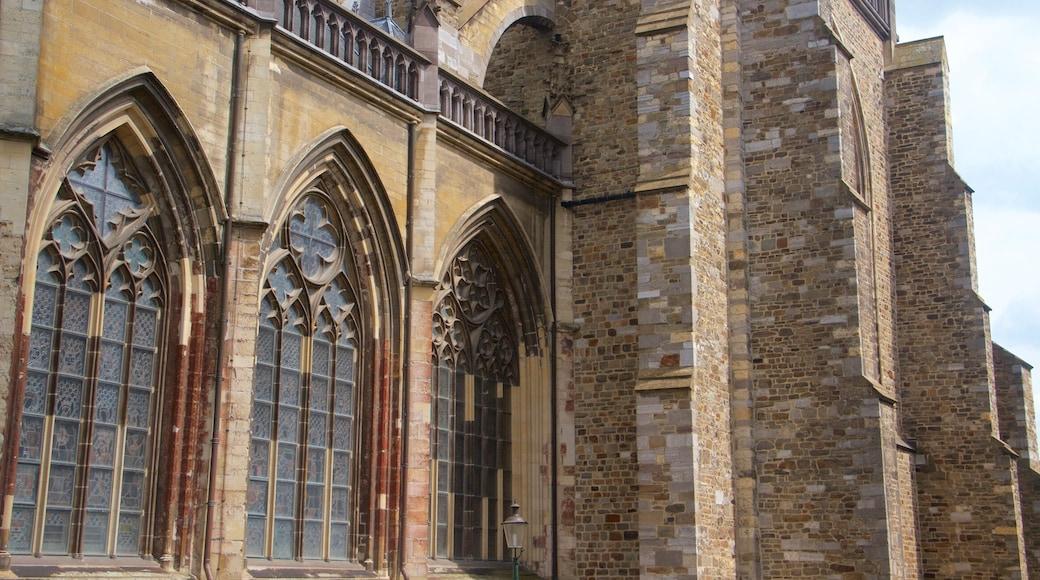St. Janskerk mostrando oggetti d\'epoca, architettura d\'epoca e chiesa o cattedrale
