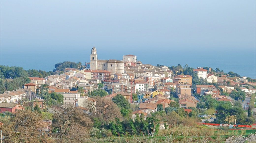 Sirolo montrant ville