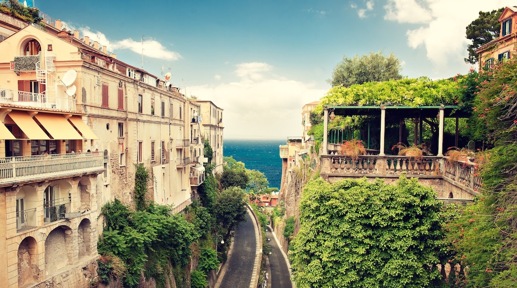 Sorrento featuring a coastal town and heritage architecture