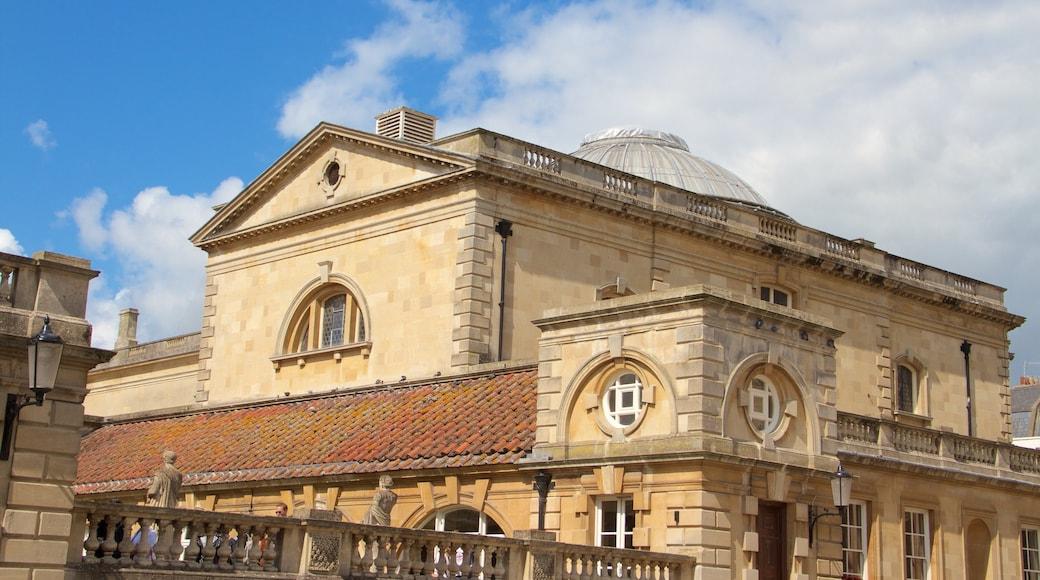 Roman Baths featuring heritage architecture