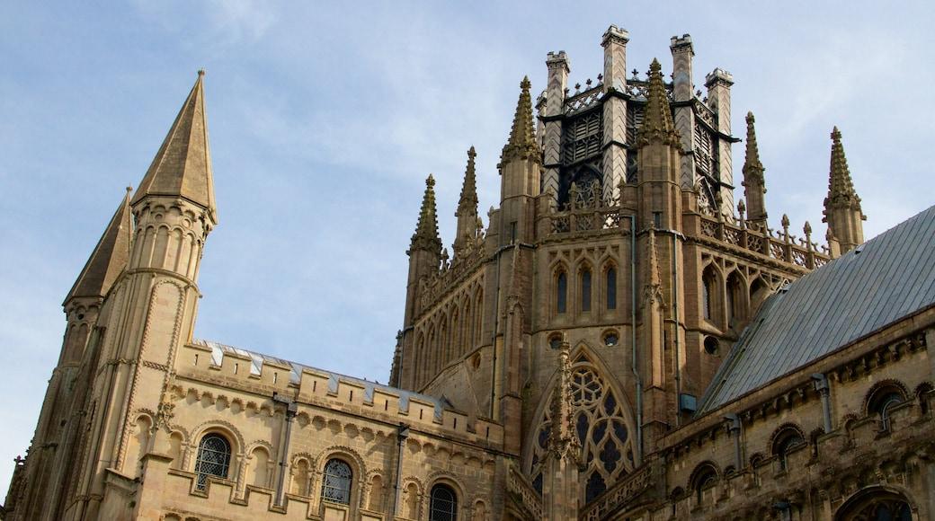 Catredral de Ely que incluye una iglesia o catedral, patrimonio de arquitectura y elementos del patrimonio