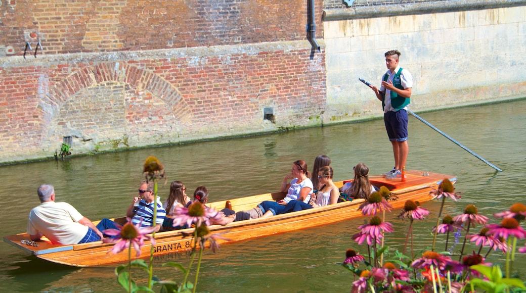 Cambridge mit einem Bootfahren, Kajak- oder Kanufahren und See oder Wasserstelle