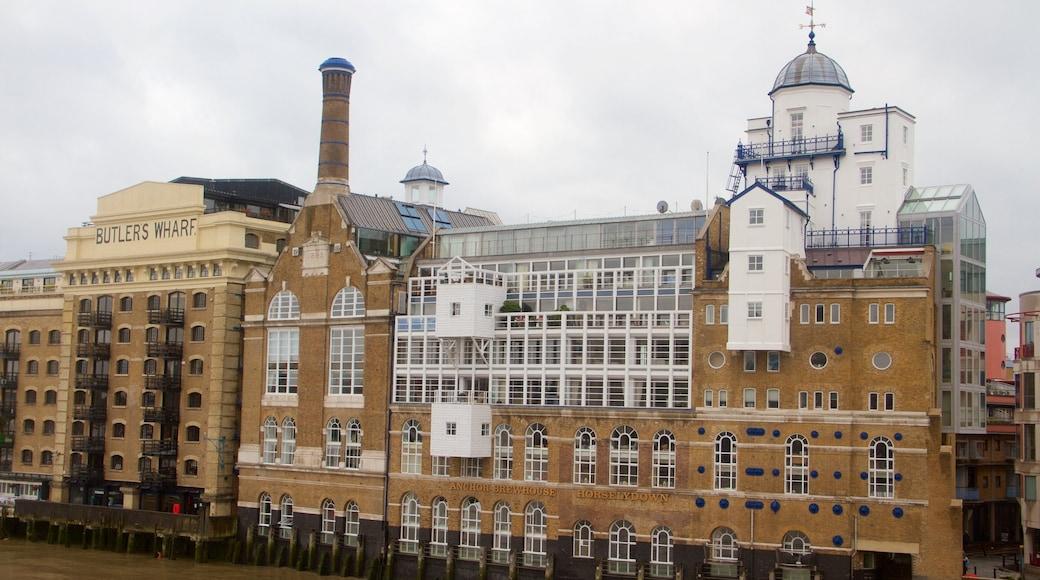 Southwark som visar historisk arkitektur