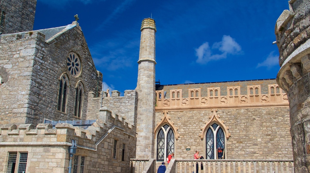 St. Michael\'s Mount which includes a castle, heritage architecture and heritage elements