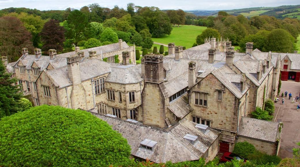 Lanhydrock mettant en vedette patrimoine architectural, château et maison
