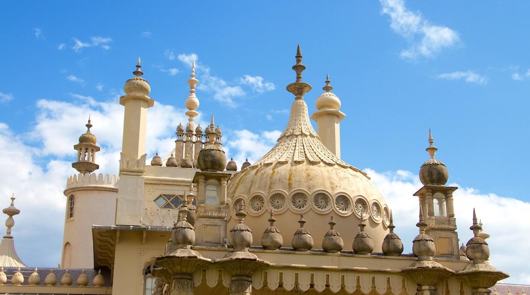 Brighton Royal Pavilion das einen historische Architektur und Geschichtliches