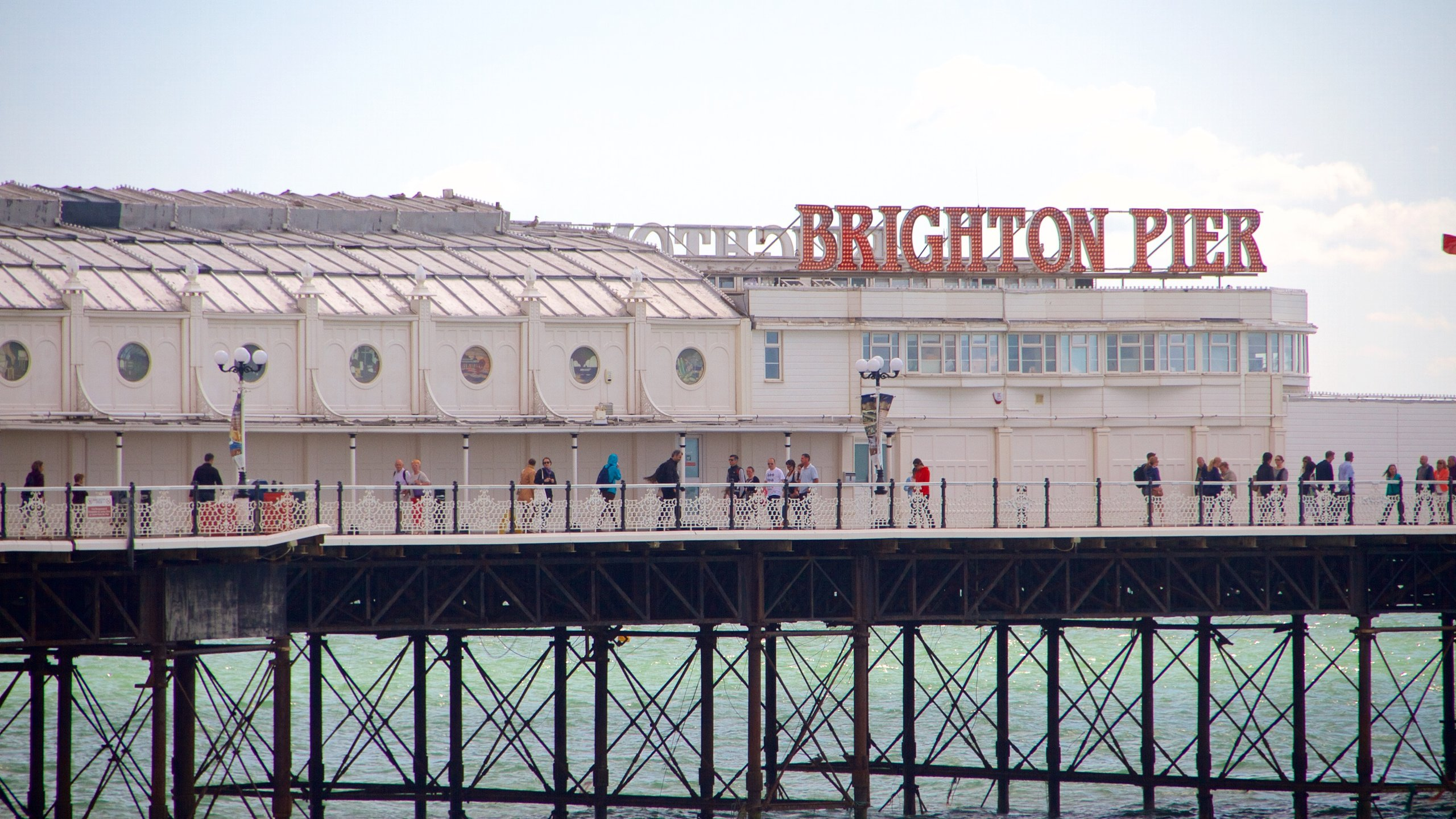 Enjoy fun-filled hours at this Brighton attraction, home to fairground rides, amusement arcades and classic seaside snacks.