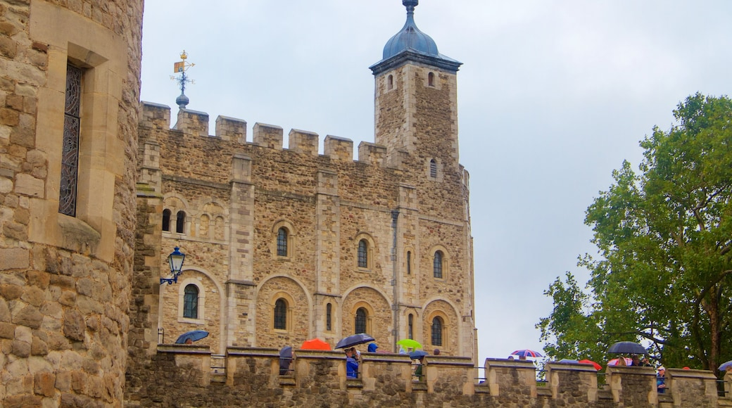 Tower of London featuring heritage elements