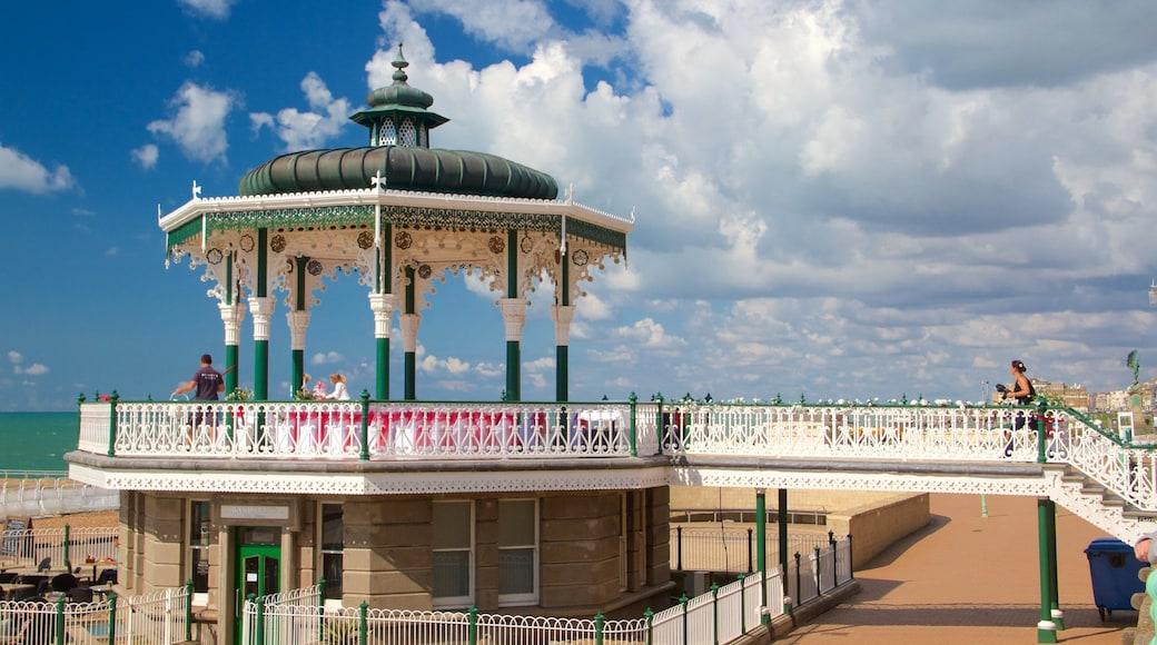 Brighton Beach which includes general coastal views