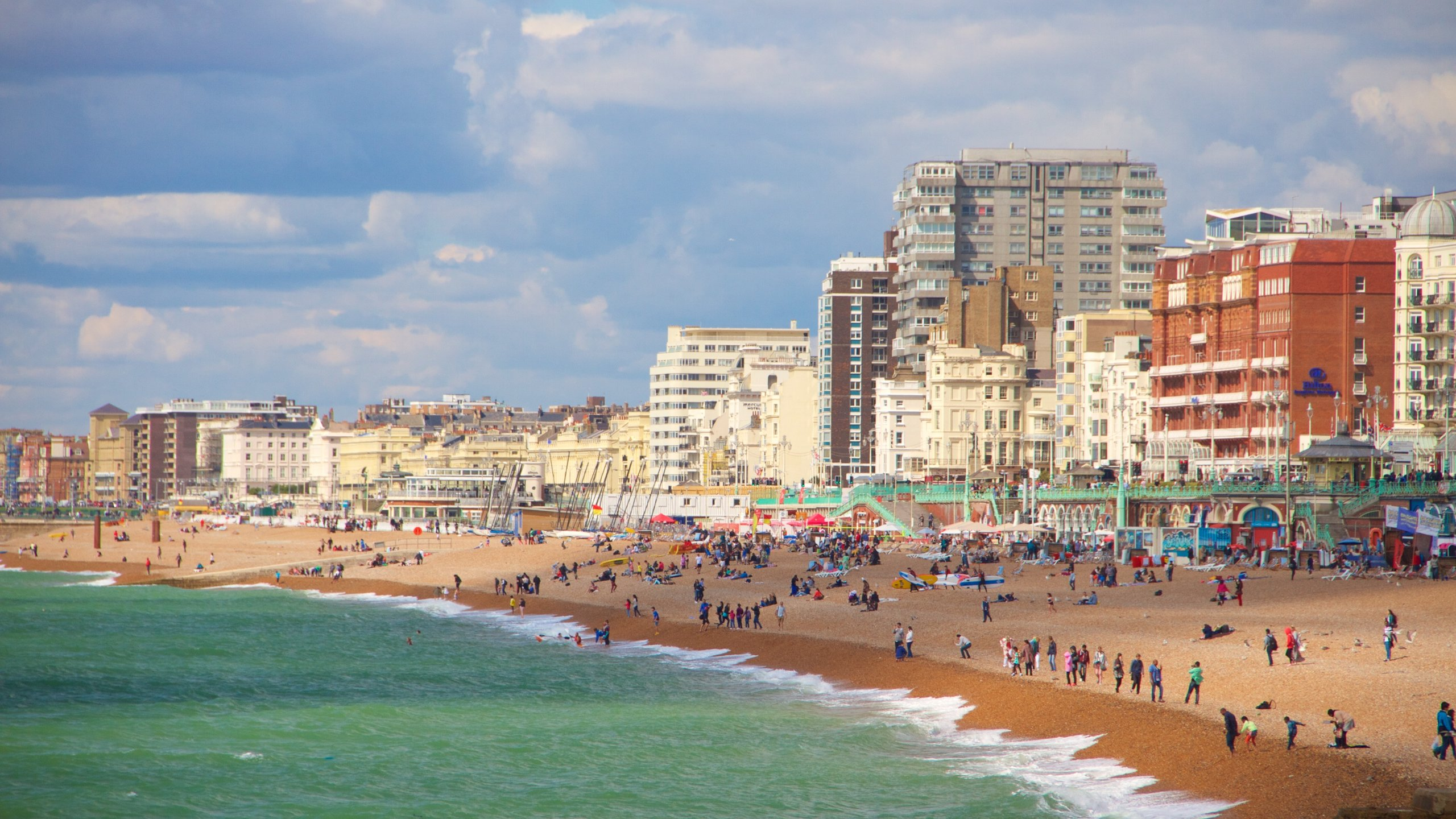 Brighton Beach, Brighton, England, United Kingdom