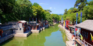 Summer Palace showing heritage elements and a river or creek