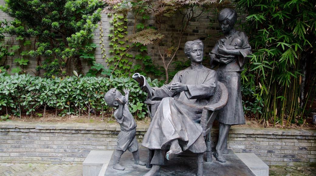 Shanghai Old Street ซึ่งรวมถึง อนุสาวรีย์หรือรูปปั้น