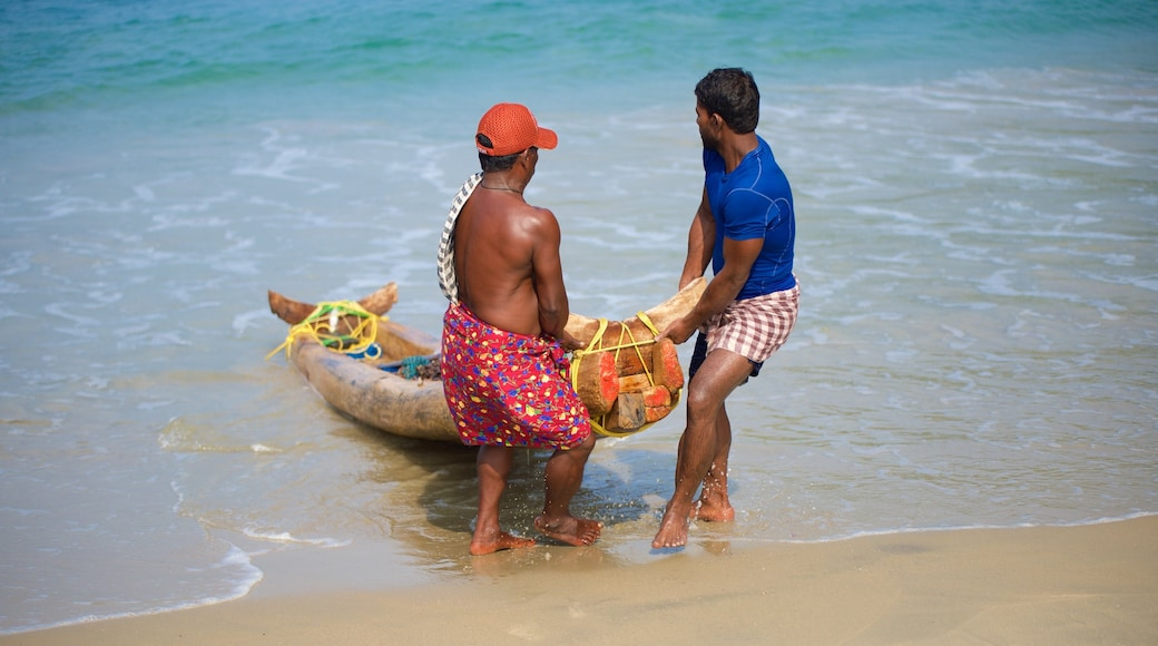 Hawah Beach which includes a sandy beach as well as a small group of people