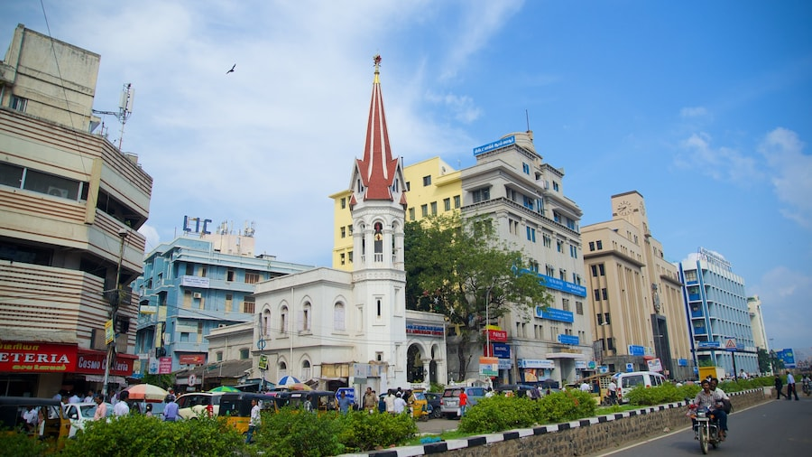 Thành phố Chennai trong đó bao gồm thành phố
