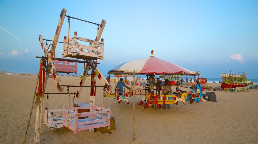 Bãi biển Elliot\'s trong đó bao gồm sân chơi