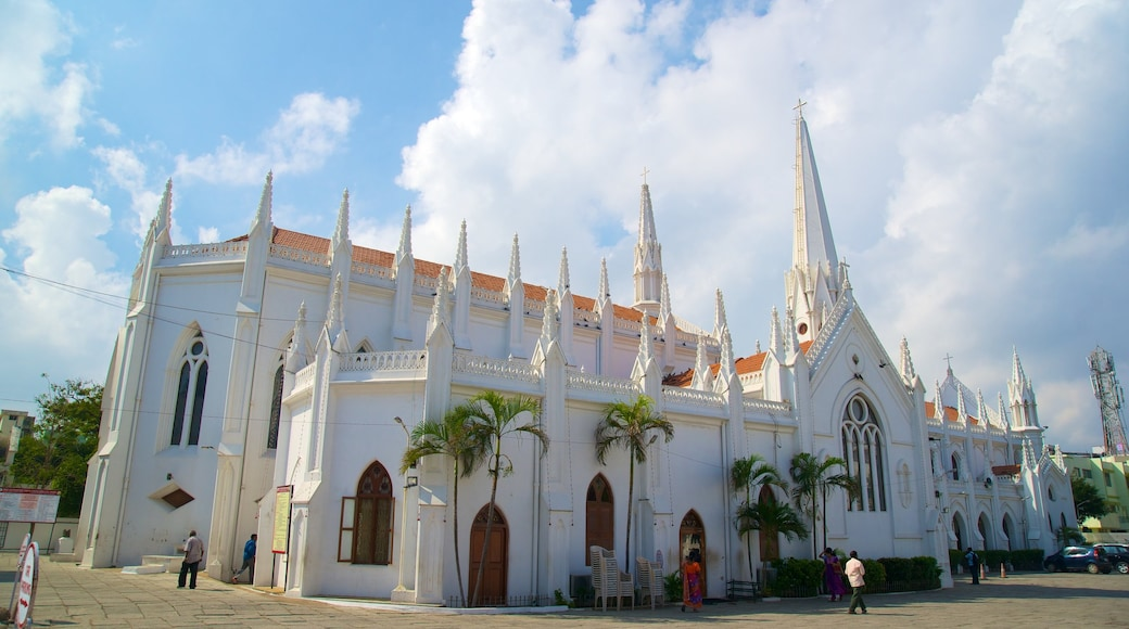 San Thome Cathedral showing a church or cathedral