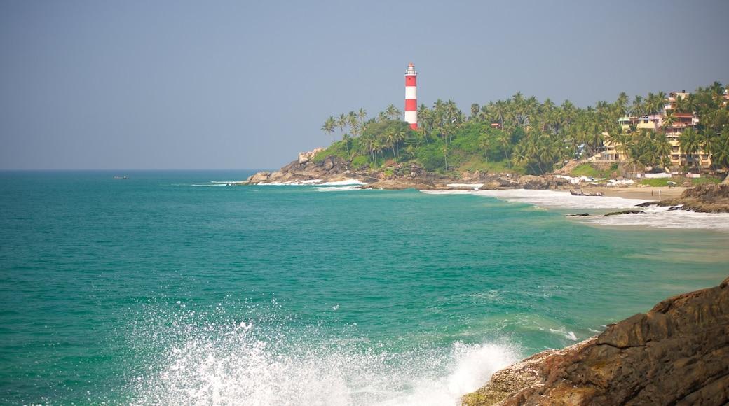 Vizhinjam Beach which includes general coastal views