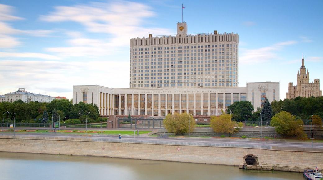 Moskau mit einem Stadt
